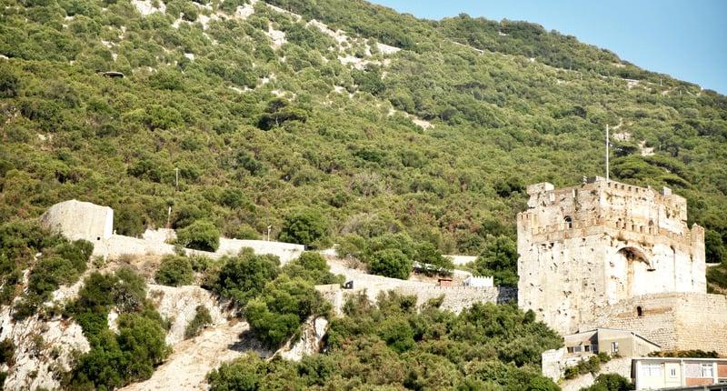 Gibraltar travel guide, Explore the Moorish castle
