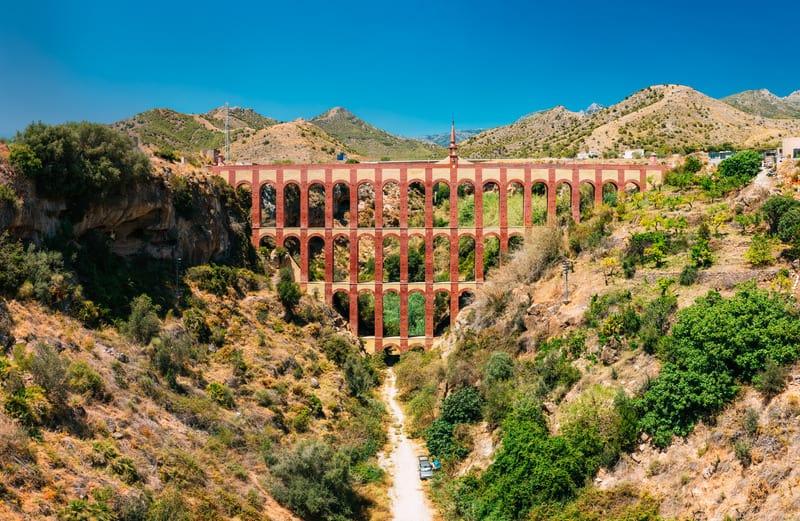 3 day itinerary Nerja, El Águila aqueduct