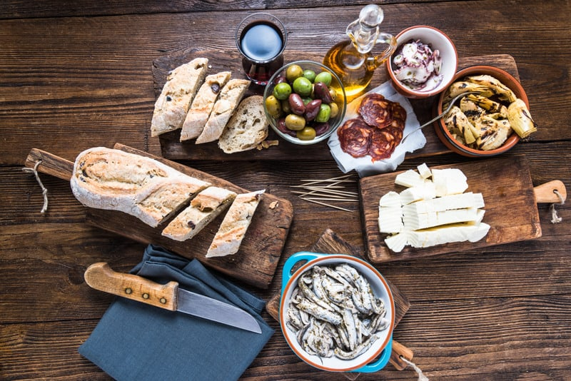 Andalusian Food, typical food from southern spain