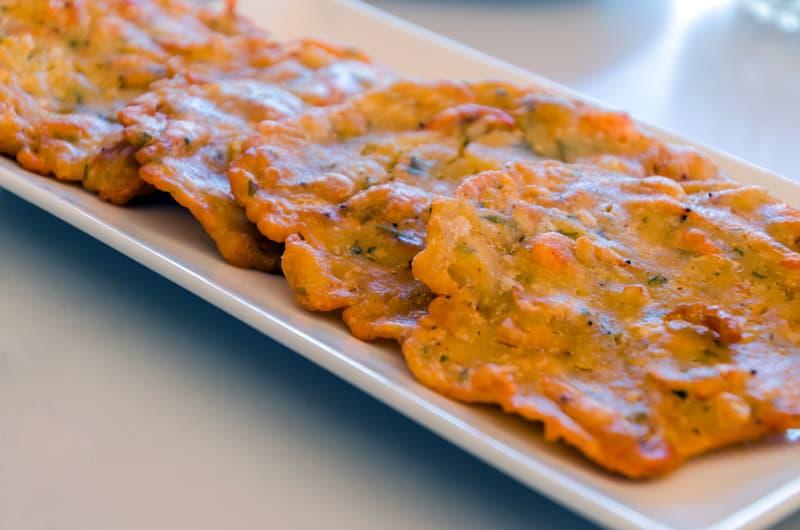andalusian dishes, Tortillitas de camarones