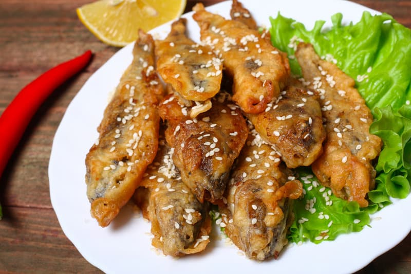 traditional food from andalusia, Boquerones