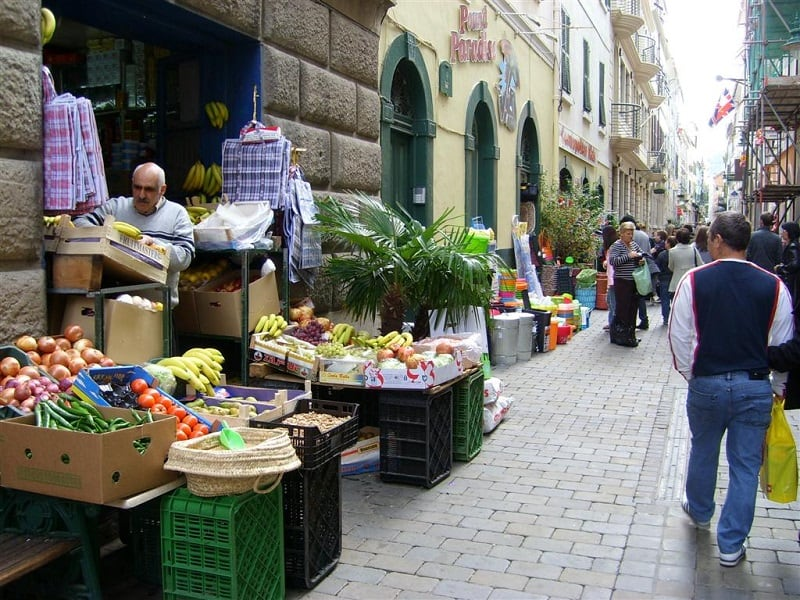 things to do in Gibraltar, Wander in Irish town