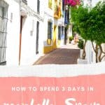 Are you looking for things to do in Marbella, Spain? We got you covered! This ultimate Marbella itinerary for 3 days, takes you to the best attractions in Marbella, Andalucia including the best beaches in Marbella, Marbella Old town, restaurants in Marbella and the best Marbella hotels. Of course, this post includes the best things to do in Puerto Banus, the famous Marbella marina of the rich & famous. Incl. fun things to do or family activities. #marbella #spain #southernspain #thingstodomarbella