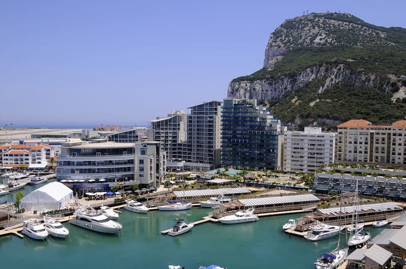 Gibraltar travel itinerary, Have a sundowner cocktail in Ocean Village