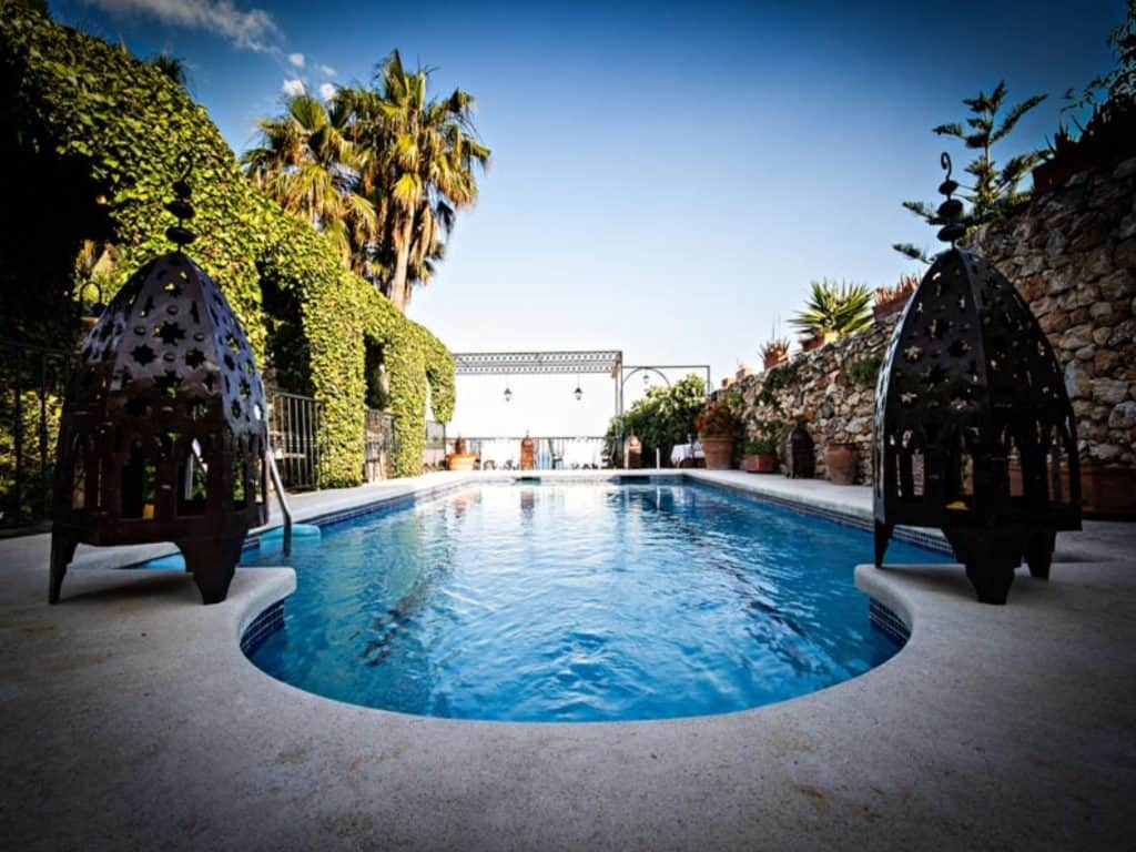 hotel carabeo nerja, accommodation in nerja, nerja hotels