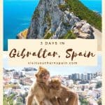Looking for things to do in Gibraltar, Spain? We got you covered! Find a selection with the best attractions in Gibraltar, Southern Spain. Whether you are looking for day trips to Gibraltar, part of Great Britain, or hotels in Gibraltar, restaurants in Gibraltar, or the funny apes of Gibraltar, Spain... this is the complete 3-day Gibraltar itinerary with the best dolphin watching operators. #gibraltar #gibraltarspain #spain #southernspain #gibraltarphotography #andalucia #gibraltartours