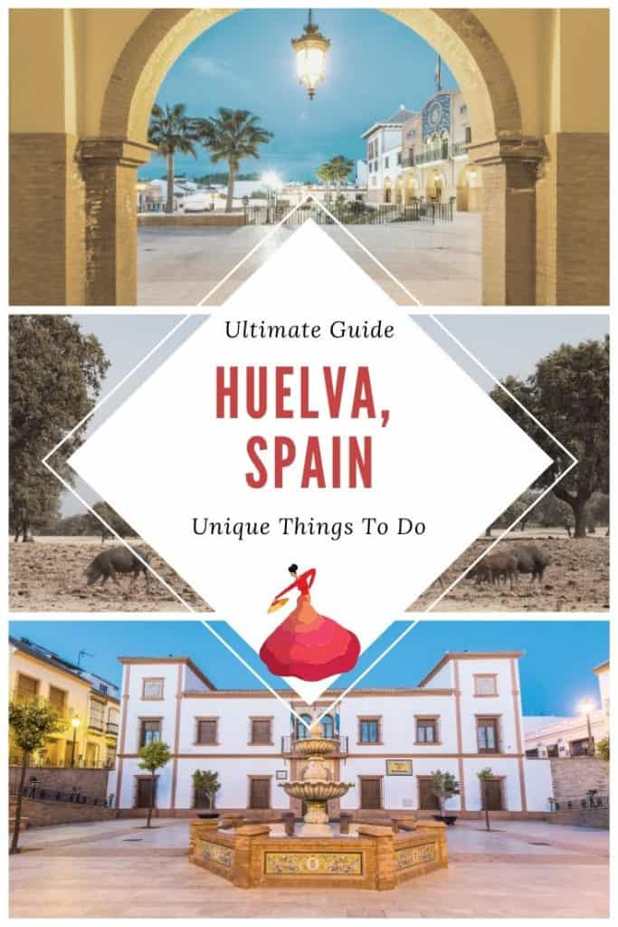 Wondering about things to do in Huelva, Spain? Enjoy a complete 3-day itinerary with the best beaches near Huelva, attractions in Huelva, Andalucia and the best hotels in Huelva, Southern Spain. This Huelva itinerary brings you all you need to know for tourism in Huelva including beach resorts in Huelva and things to eat in Huelva. And don't forget the delicious tapas from Huelva, Spain. #huelva #southernspain #andalucia #andalusia #huelvabeaches #huelvaspain #huelvatourism #visitspain #spaintourism