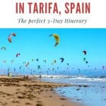 Are you looking for the best things to do in Tarifa, Spain? We got you covered with this Tarifa itinerary! Find out what to do in Tarifa, Andalucia, which is also known as the European surf capital. Discover the best hotels to stay in Tarifa, where to go surfing or kitesurfing in Tarifa, incl. the best tapas restaurants in Tarifa, Southern Spain. This guide also includes a selection of recommended day tours. #tarifa #tarifaspain #tarifabeaches #tarifasurfing #tarifasurf #southernspain #andalucia