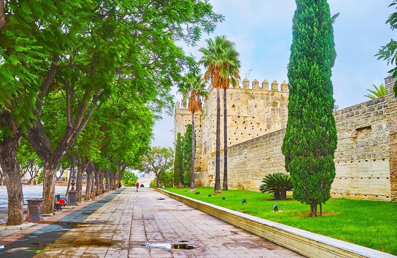 jerez itinerary, Visit the Alcazar