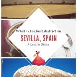 Wondering what is the best neighborhood in Seville, Spain? Let's face it: Sevilla, Spain is large and when looking for hotels in Seville, it might be overwhelming. Indeed, every district in Seville has a different flair. After living in Seville, I give you an overview about neighborhoods in Seville and where to stay. This Seville accommodation guide recommends the best districts in Seville according to your travel plans: business, family trip or first-time visit. #andalucia #andalusia #spain