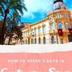 Are you looking for things to do in Cartagena, Spain? We got you covered with this vast Cartagena itinerary including the best hotels in Cartagena, Spain, tapas in Cartagena and the best walking tours in Cartagena. When looking for attraction in Cartagena, don't forget to check the highlights of Modernist architecture listed in this guide. All packed with gorgeous Cartagena, Spain photos. You can't miss this hidden gem in Southern Spain! #southernspain #murcia #cartagenaspain #spaincruise #spain
