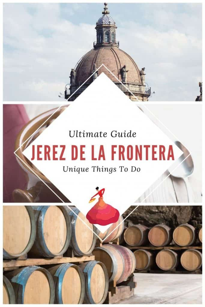 Are you looking for things to do in Jerez, Spain? Enjoy a complete guide on what to do in Jerez de la Frontera, Spain, one of the prettiest towns in Andalucia. The town in Southern Spain is known for flamenco, sherry tastings and Andalusian horses. Attending an Andalusian horse show is thus a must. This guide also covers hotels in Jerez, Andalucia and how to save money when visiting. #jerez #jerezspain #jerezdelafrontera #jerezdelafronteraspain #jerezdelafronteraflamenco #andalucia #townsspain