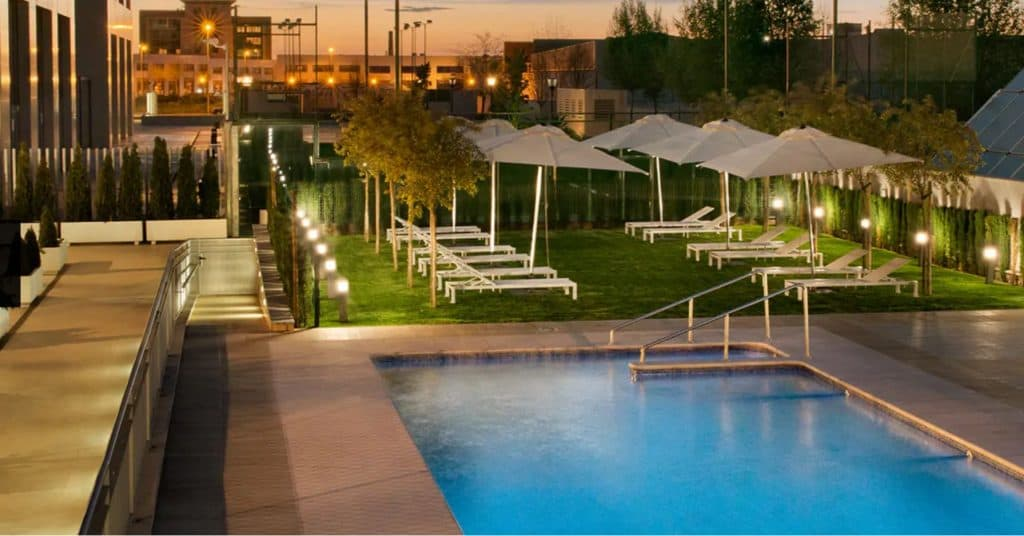 hilton garden inn sevilla spain hotel
