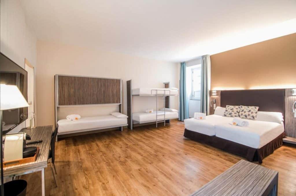 hotel petit palace seville santa cruz family room