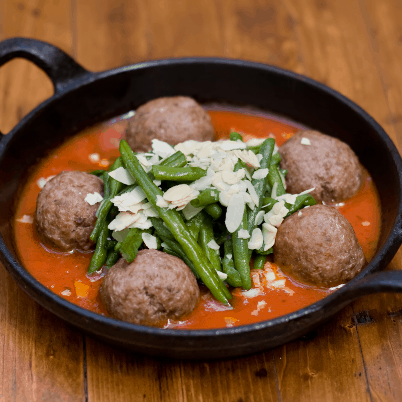 Delicious Albondigas in Malaga, Spain