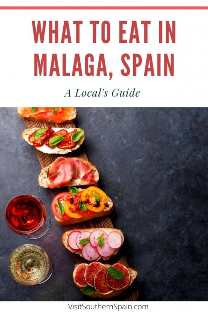 Are you wondering about what to eat in Malaga and what's a typical food in Malaga, Spain? This ultimate foodie guide by a local introduces you to the best tapas in Malaga and best drinks in Malaga including Malaga wine. You'll also get 1 recommend restaurant in Malaga per recommended traditional food from Malaga, Andalusia. Thus if you are looking for the best places to eat in Malaga, Spain, this guide will tell you where to eat in Malaga for traditional food. #malaga #malagafood #malagatapas