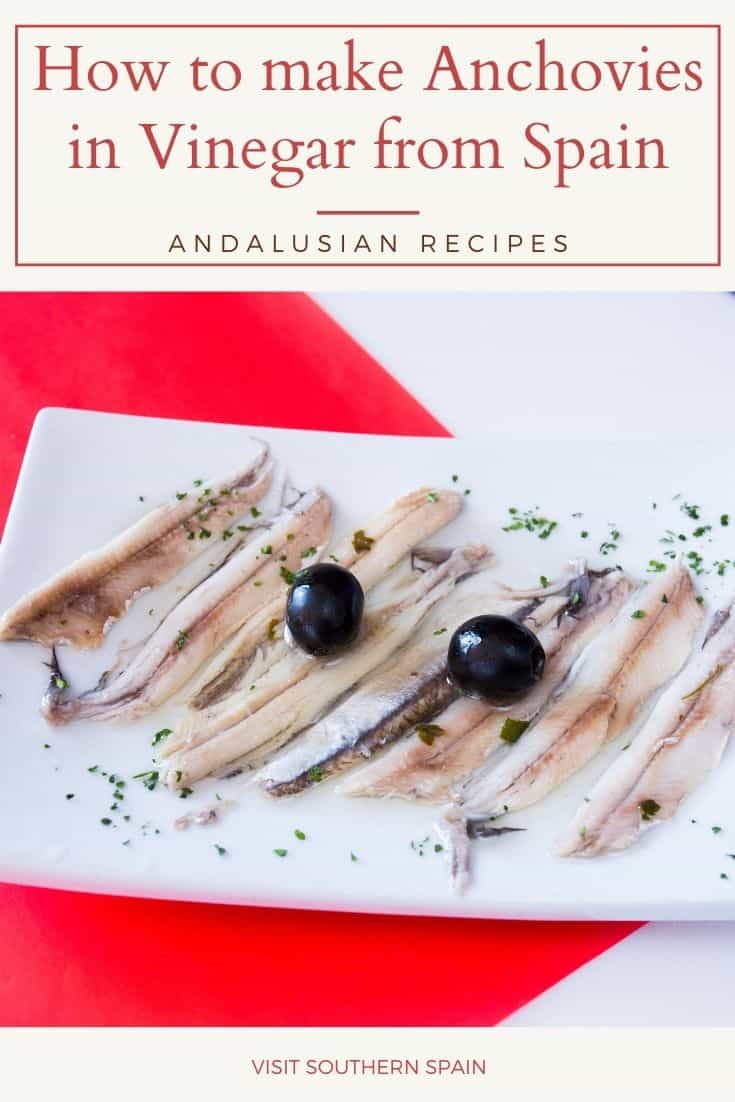 Are you looking for the real recipe from Spain of boquerones en vinagre? Not only is this one of the most famous tapas in Spain, but it is also one of the healthiest dishes from Spain. Luckily this snack from Spain is very easy to be made and here we chare the instruction on how to do boquerones en vinagre (anchovies in vinegar) at home. Thanks to the vinegar, anchovies in olive oil and vinegar can be stored for a long time. #anchoviesivinegar #anchoviesinoil #boqueronesenvinagre #spanishfood