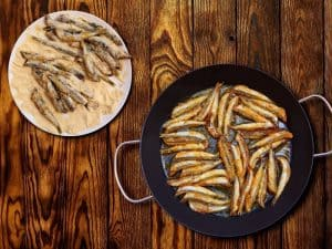 Spanish Fried Anchovies – Boquerones Fritos Recipe