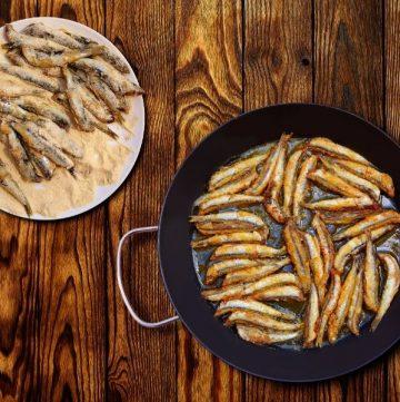 boquerones fritos anchovies