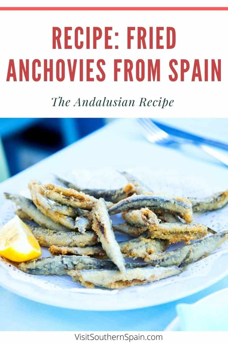 Looking for the authentic Spanish recipe of boquerones fritos? Also known as boquerones fritos al limon in Malaga, fried anchovies are a staple in the cuisine of Southern Spain. The good thing is that this Spanish recipe is so easy to do. Indeed for deep-fried anchovies, you only need a few ingredients and you can make them in less than 30minutes. It's thus perfect when looking for Spanish snacks or when doing a Spanish dinner. This fried anchovies recipe comes ready to print! #friedanchovies #spain