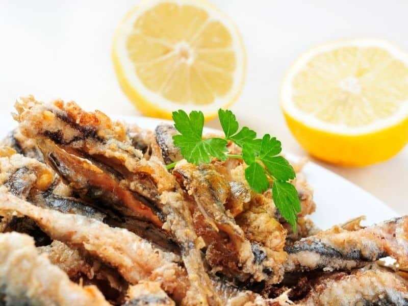 Spanish Fried Anchovies - Boquerones Fritos Recipe