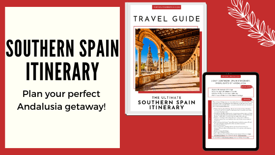 banner southern spain itinerary