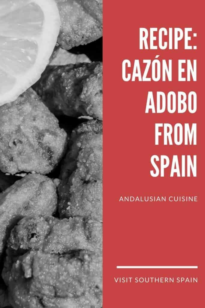 Are you looking to prepare cazon en adobo like in Spain? Marinated cazon fish (or marinated dogfish) is one of the most typical dishes from Spain and it's one of the best things to eat in Cadiz or Malaga. If you want to prepare this Andalusian dish at home, check this easy Cazon en adobo recipe from Southern Spain. Indeed dogfish recipes are tasty and easy to make. Share this dogfish shark recipe with friends and remember about your vacation in Spain #dogfish #cazonenadobo #marinatedfish #spain