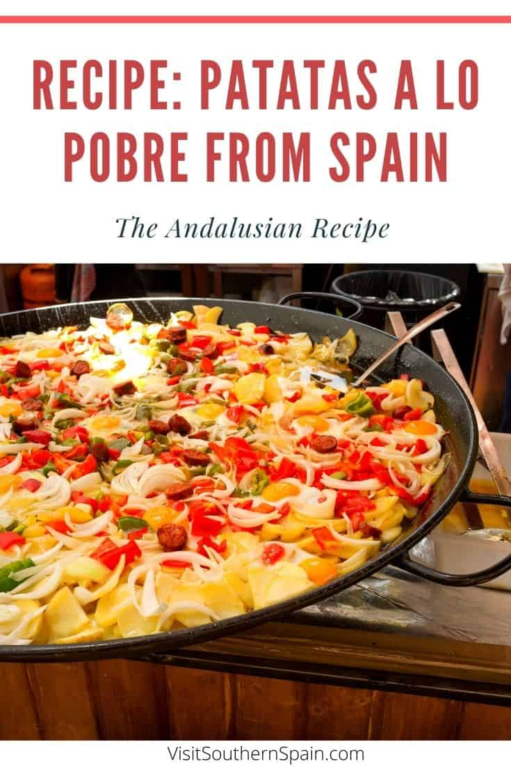 Are you looking for the ultimate patatas a lo pobre recipe? This Spanish dish is one of the easiest dishes to make. It's hearty and can definitely be one of your next favorite comfort foods. This is also a great idea when looking for Spanish vegetarian dishes as you can skip the meat. Translated as