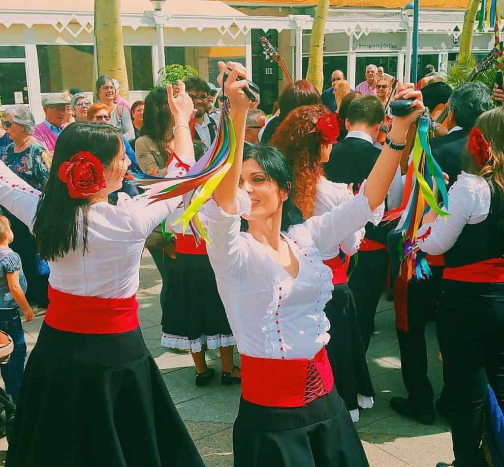 verdiales typical dance from malaga region