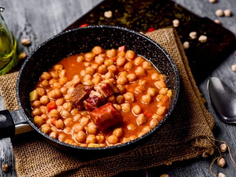 ingredients spanish garbanzo soup