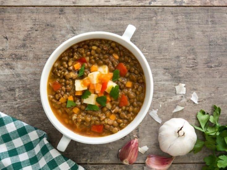 sopa de lentejas recipe