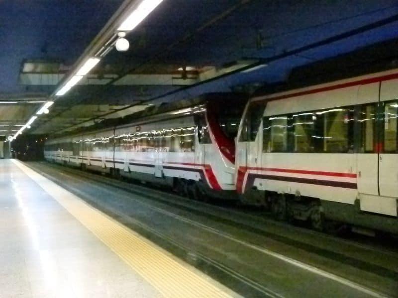 cercanias train spain