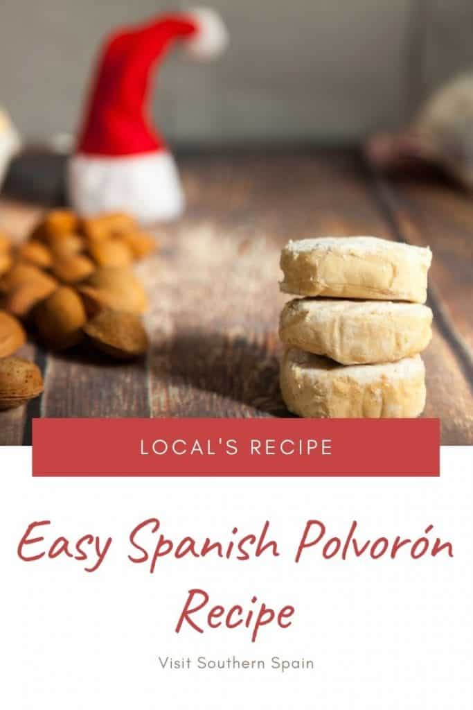 Are you wondering how to make polvoron from Spain? This is probably the most popular Spanish Christmas food of all time and this Spanish Christmas cookie can be easily prepared at home. This polvoron recipe comes from Spain but there is also a Filipino polvoron version. If you're looking for Spanish Christmas cookies this polvoron recipe is a must since it's part of every Spanish Christmas tradition. #polvoron #spanishchristmasfood #polvoronrecipe #spanishchristmascookies #andalusia