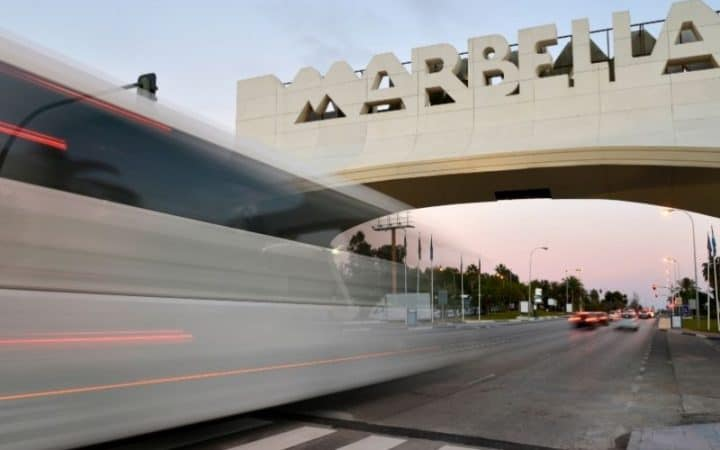 marbella bus