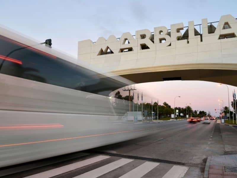 marbella bus to malaga