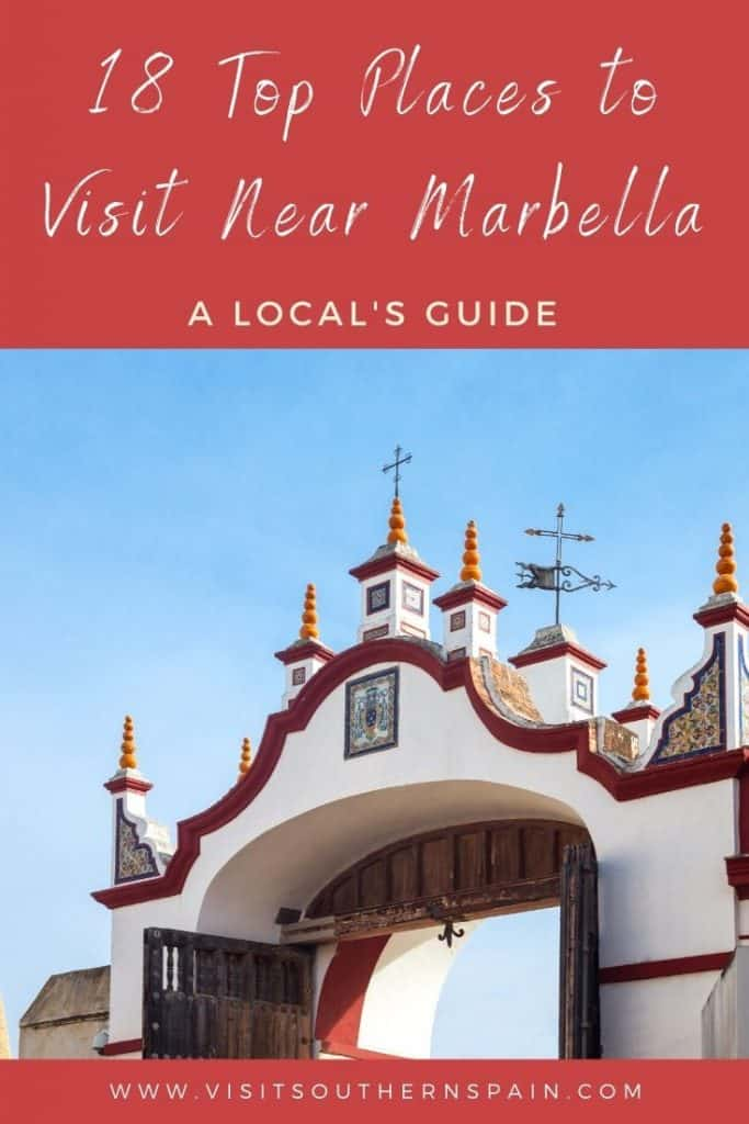 What are the best places to see in and near Marbella? Discover a range of top attractions in Marbella including beaches, hotels, jet-set feeling and yacht harbors. There are many things to do near Marbella, Spain and I invite you to take a stroll through this Andalusian town with me. Besides things to do in Marbella, you'll find plenty of day tours from Marbella to the best places in Andalusia. #marbella #marbellaspain #spain #andalusia #southernspain #ronda #malaga #beaches #nerja #juzcar