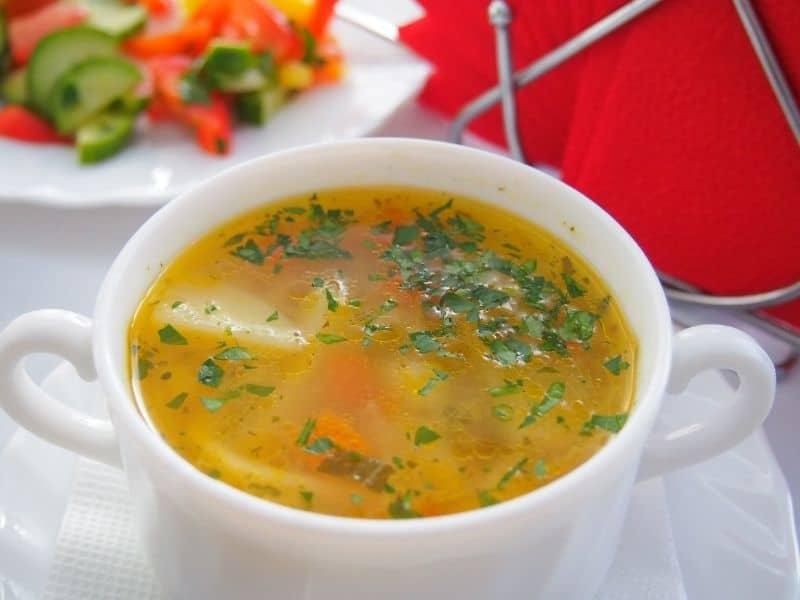 spanish chicken soup