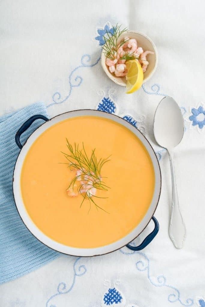 spanish shrimp soup (1),Tips on Serving