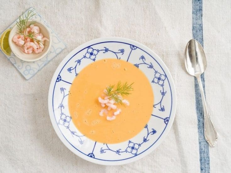 spanish shrimp soup