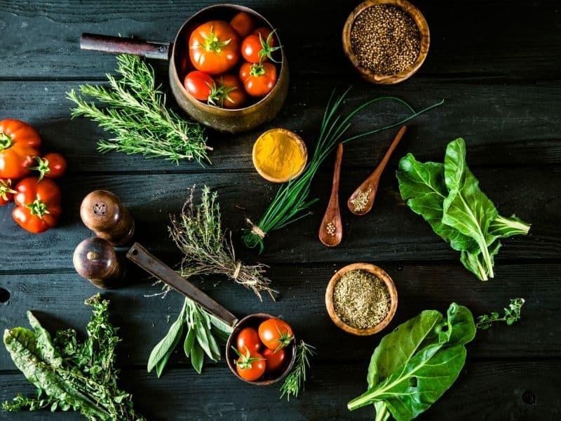 vegetables, Substitution of ingredients