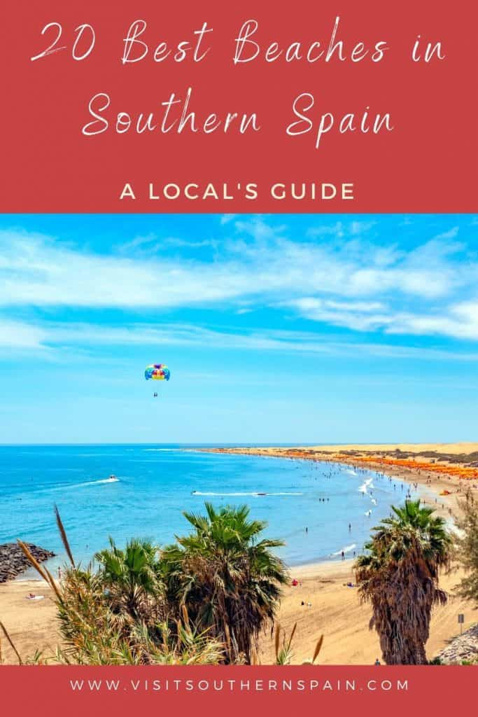 What are the best beaches in Southern Spain? This guide takes you to the best beaches in Andalusia whether you are a surfer, a nature lover or a beach party animal. Are you wondering what are the best beaches in Spain for surfers or beach parties? In this guide you'll find hidden beaches of Andalusia, they are some of the most beautiful places in Southern Spain. Let's hit the beach! #andalusia #beach #bestbeaches #europe #spain #southernspain #southspain #surfing #beachvacay #laplaya #beaches