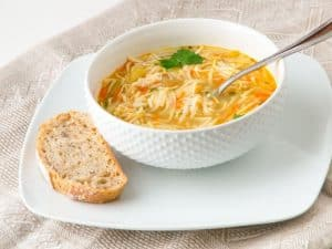 Spanish Chicken Noodle Soup Recipe
