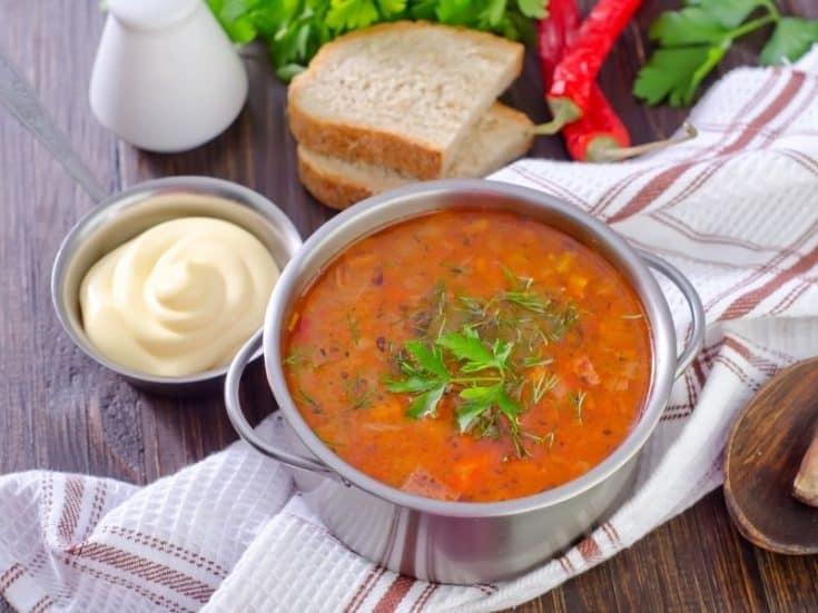 Spanish Rice Soup Recipe