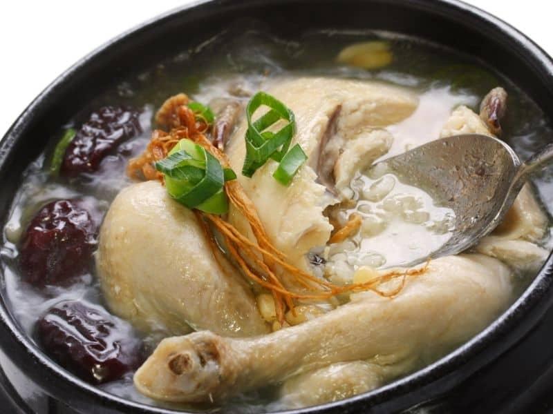 spanish chicken soup recipe broth