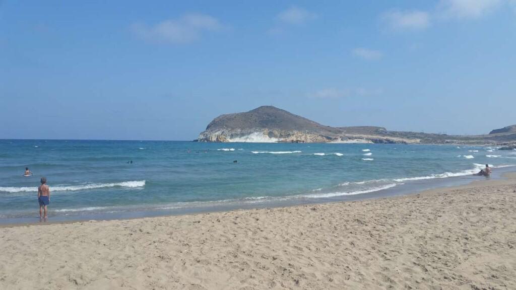 Playa Los Genoveses Beach almeria