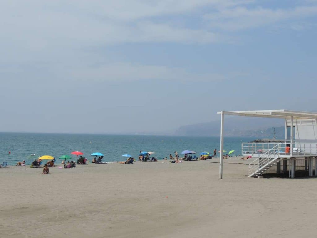 el zapillo beach almeria spain