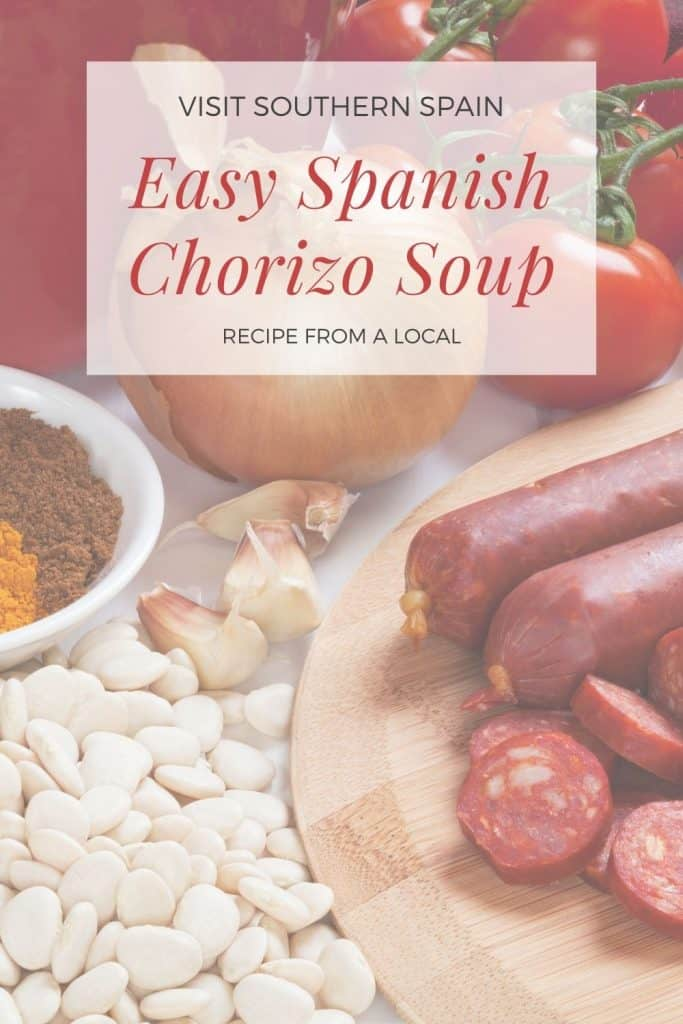 Are you looking for the best Spanish Chorizo Soup Recipe? This is one of the most popular Spanish chorizo recipes based on legendary Spanish chorizo sausage. This recipe also gives a short intro about what is Spanish chorizo and the difference between dry-cured Spanish chorizo. If you're looking for Spanish chorizo recipes, this Spanish soup is a must! On top of it is one of the easiest chorizo sausage recipes and one of the tastiest chorizo soup recipes. #chorizosoup #spanishsoups #chorizorecipe
