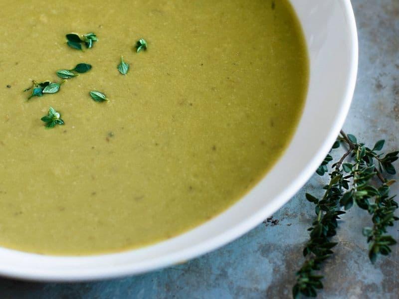 spanish pea soup creamy