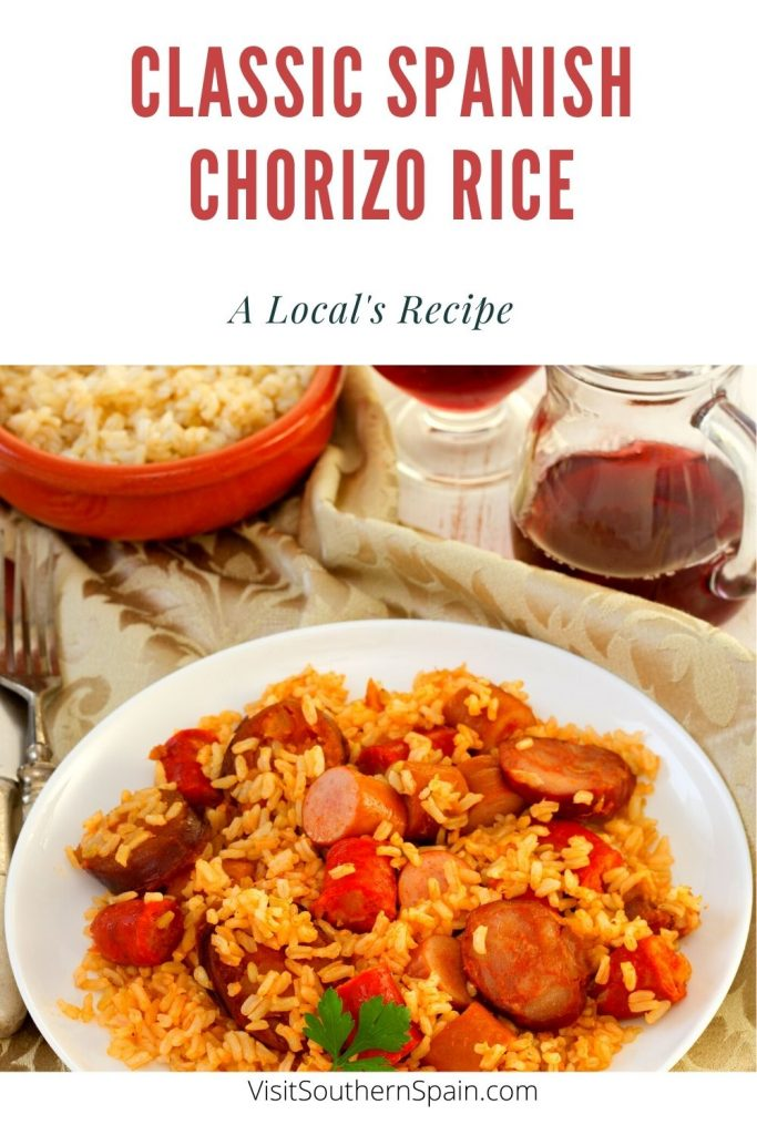 Are you looking for a Spanish Chorizo Rice recipe? This classic chorizo rice is one of the easiest recipes with chorizo that you can make. A very delicious dish thanks to the smoked and rich flavor of the Spanish-style chorizo and the seasoned rice. If you've never tried recipes with chorizo, you should definitely indulge in this Spanish rice with chorizo. You will be amazed at how tasty this rice with chorizo recipe is. #spanishchorizorice #chorizorice #spanishchorizo #ricewithchorizo