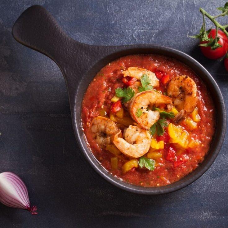 _Gazpacho with Shrimp